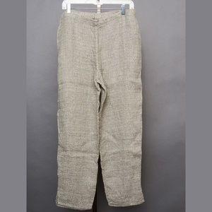 Flax Pants - Flax linen pants Sage NWOT